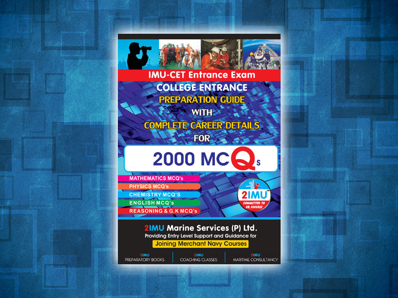 IMU-CET  Entrance Exam MCQ's 2000