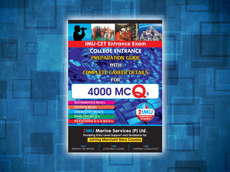 IMU-CET Entrance Exam MCQ's 4000