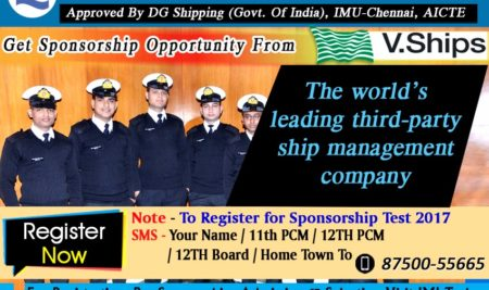 V Ships Sponsorship Test Notification 2018
